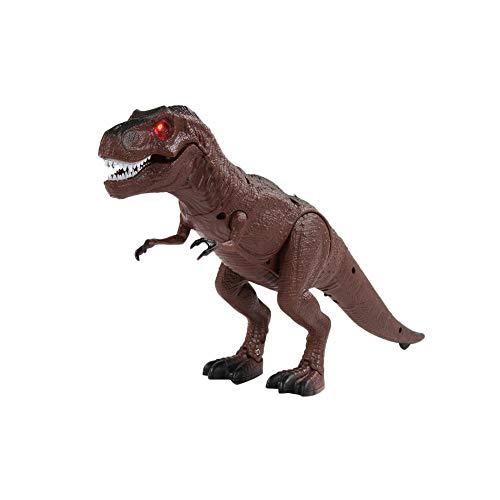 Jannyshop Dinosaurio de Control Remoto Juguetes Eléctricos para Niños de Educación Inicial Modelo Tyrannosaurus Rex