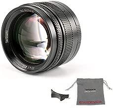 7artisans 50mm F1.1 Leica M Mount Fixed Lens for Leica M-Mount Cameras Like Leica M-M Leica M240 Leica M3 Leica M6 Leica M7 Leica M8 Leica M9 Leica M9p Leica M10 (Black)