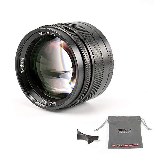 7gestaltet spiegellose Kamera Objektiv für Leika, 50mm F1.1 Black