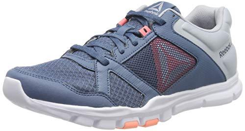 Reebok Yourflex Trainette 10 MT, Zapatillas de Deporte para Mujer, Multicolor (Blue...