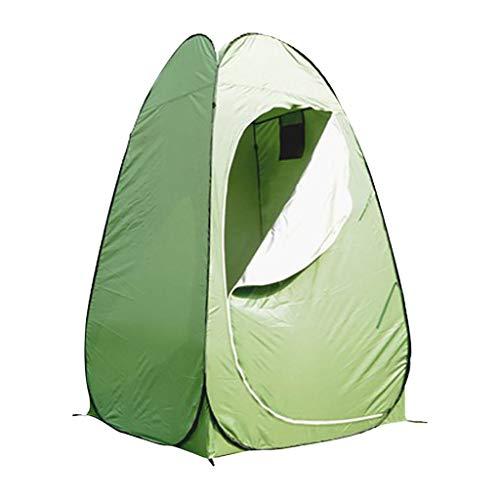 Pop up Toilettenzelt Umkleidezelt, Camping Duschzelt Outdoor Mobile Toilette Umkleidekabine Lagerzelt, Wurfzelte Wasserdicht Tragbares Außenduschzelt, Strand Zelte 120x120x195cm (a)