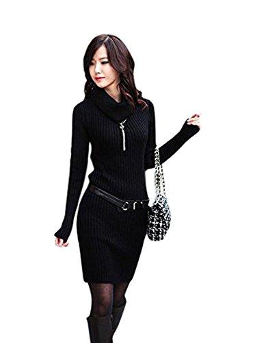 『プールヴー パーティードレス ワンピース ドレス お呼ばれ 女子会 レディース ブラック フリーサイズ』のトップ画像