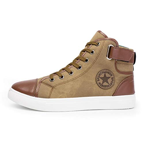 Zapatos de pareja, Covermason Casual par Zapatos Botas High Top Canvas