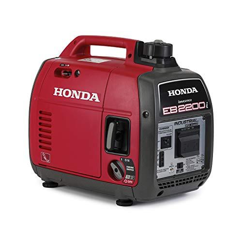 Honda EB2200iTAG 2200-Watt Super Quiet Portable Industrial Inverter Generator with Co-Minder