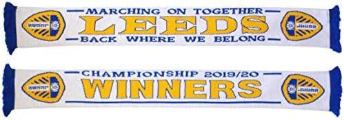 Arena Scarves Leeds Champions Scarf 2019/2020 - Back Where We Belong!