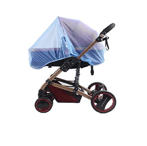 Mosquitera/Red antiinsectos universal para capazo, silla de paseo y cuna de viaje | Protección ideal contra picaduras, resistente, con goma elástica y lavable ⭐⭐⭐⭐⭐ (BU)