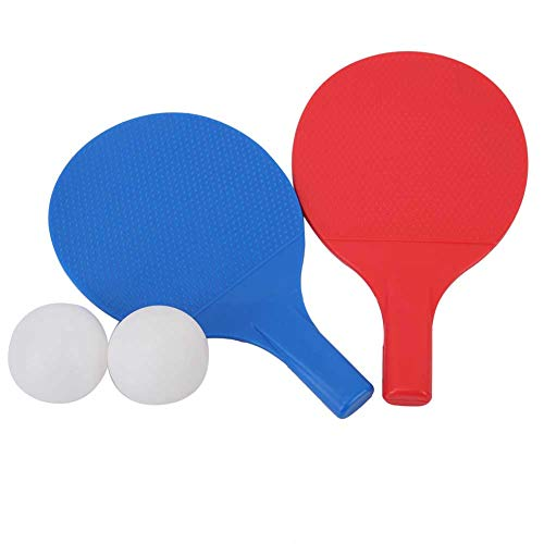 Why Should You Buy DaMohony Kids Ping Pong Paddle Set, Outdoor Children Training Table Tennis Bat Po...