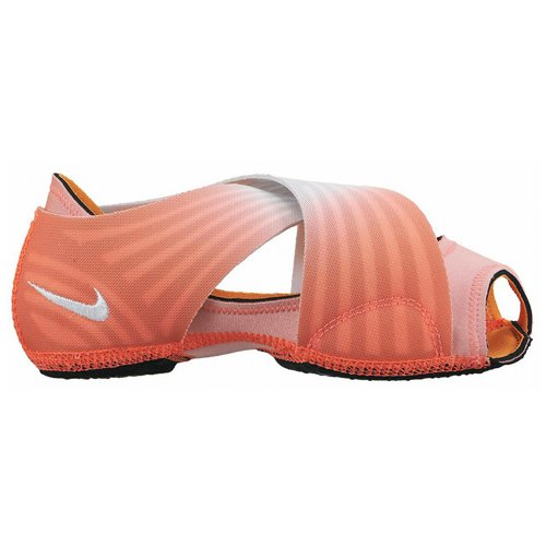 Nike Women's WMNS Studio WRAP 3 PRT Yoga Shoes, Lava Glow/Pure Platinum/White, X-Small