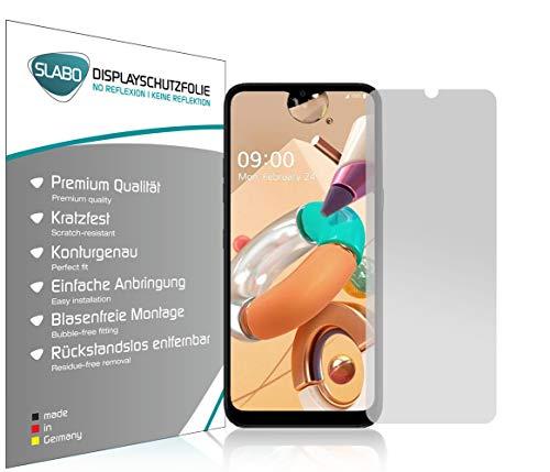 Slabo 4 x Bildschirmschutzfolie für LG K41S Bildschirmfolie Schutzfolie Folie Zubehör No Reflexion MATT
