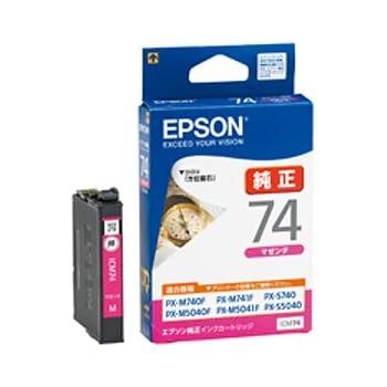 エプソン エプソン純正インクカートリッジ ICC74 マゼンタ標準 ICM74/62730341
