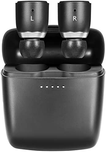 Cambridge Audio Melomania 1 Earbuds Pair, True Wireless Bluetooth 5.0, Hi-Fi Sound, in-Ear Stereo Earphones for iPhone and for Android, with Portable Charging Case (Stone)