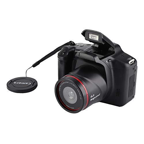 Fotocamera digitale, videocamera videocamera con schermo da 2,4 pollici, videocamera tascabile con zoom digitale Full HD 720P 16X, estensione mini videocamera a 32G per adolescenti regalo per principi
