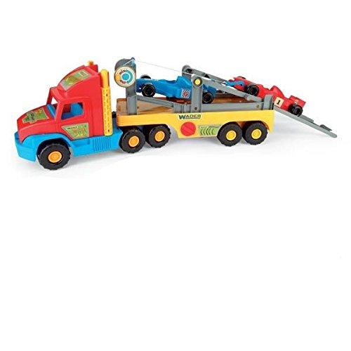 Wader - 2078196 - Super Truck - Transporteur De Voitures - F1 Véhicule