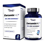 1MD CurcuminMD Plus - Turmeric Curcumin with Boswellia Serrata - 285x More Absorbable | Joint Pain Relief, Anti-Inflammatory, Antioxidant Supplement | 60 Capsules