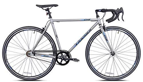 Takara Oni Single Speed Drop Bar Fixie Road Bike, 700c, Medium