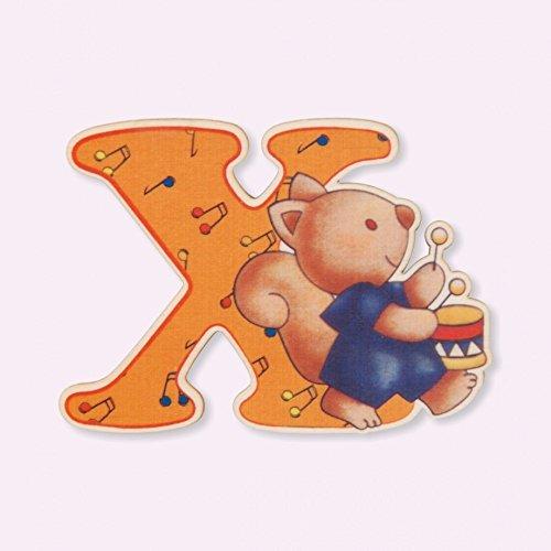 Dida - Lettre X Bois Enfant - Lettres Alphabet Bois pour Composer Le nom de Votre bébé et décorer la Chambre