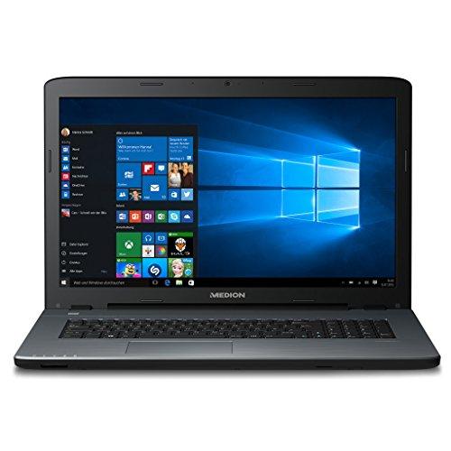 MEDION AKOYA P76412.3GHz i5–6200U 17.31920x 1080pixel schwarz, silber Computer Laptop