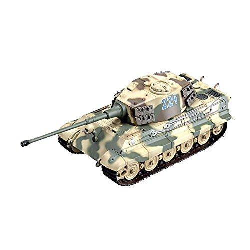 Easy Model 36294 Tiger II Severo SS.Panzer - Reproducción de Tanque Militar en Miniatura [Importado de Alemania]