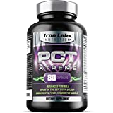 Iron Labs Nutrition PCT Xtreme Capsules, Post Cycle Support & Natural Booster, Advanced Formula, Made in USA, 80 Count