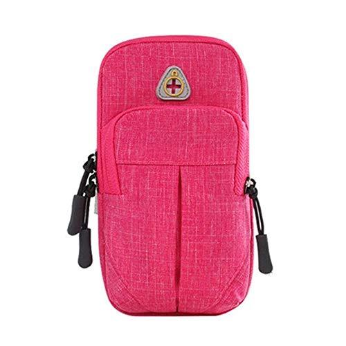 Bolsa de deporte multifuncional para correr, para teléfono móvil, para brazo, para hombres, mujeres, brazo, brazo, brazo, bolsa de muñeca (color: B, tamaño: 19 cm x 12 cm)