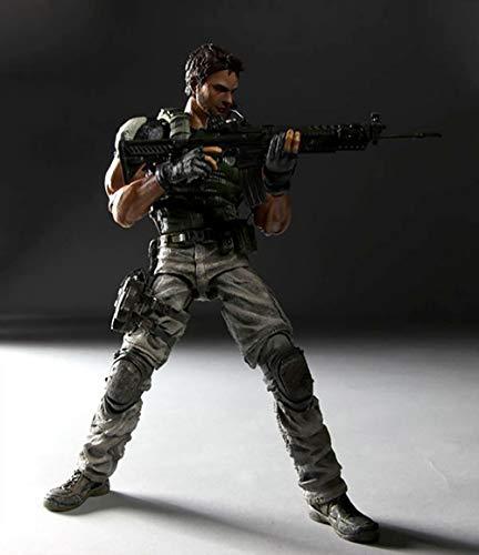 NOBRAND Mapa de acción de Personajes de Resident Evil 5 Chr