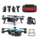 XUSUYUNCHUANG For dji Spark Accesorios Lente de la cámara Cap + Sun Capilla + Instalación rápida Landing Gear + Joystick for dji Drone Spark Accesorios avión no tripulado