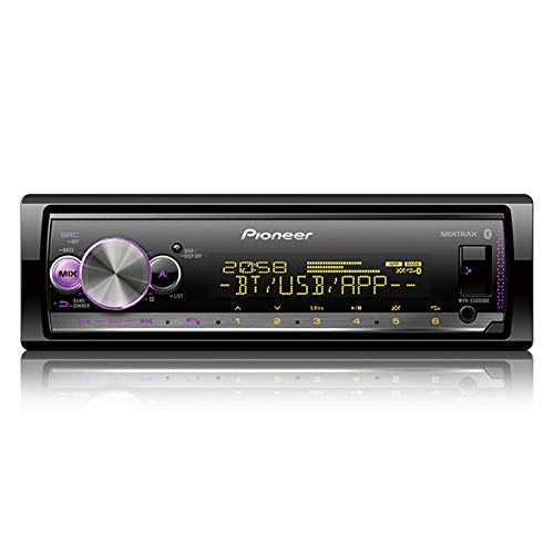Media Receiver Pioneer MVH-X3000BR Som Automotivo Bluetooth