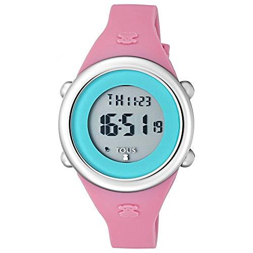 clasificación y comparación Reloj digital de acero suave con correa de silicona fucsia Ref: 800350615 para casa