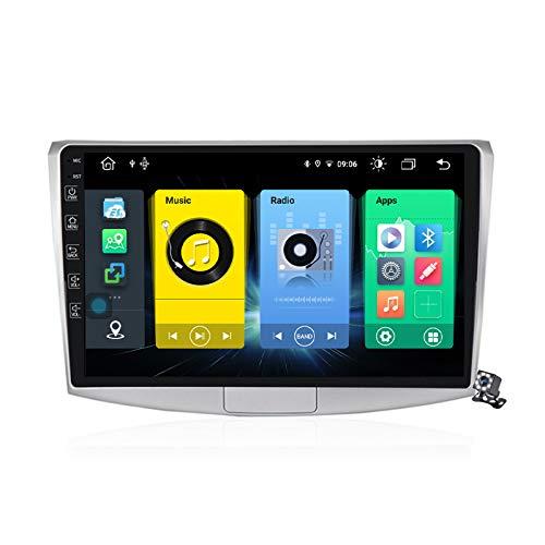 Buladala Android 10 GPS Navigation Stereo Radio para VW Passat B7 CC Magotan 2010-2015, 10,1' Pantalla Coche Media Player Soporte Carpaly/5G FM RDS/Control Volante/Bluetooth Hands-Free,7862: 6+128