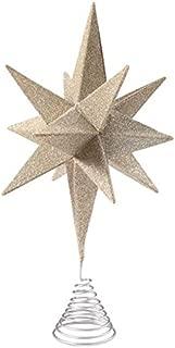 Bethany Lowe Silver Moravian Star Tree Topper