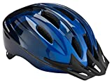Schwinn Bike Helmet Intercept Collection, Adult, Silver/Light Blue