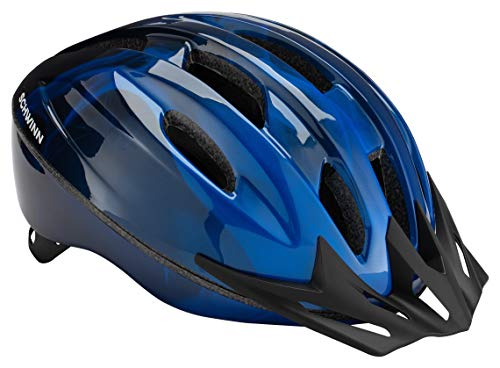 Schwinn Bike Helmet Intercept Collection, Adult, Blue