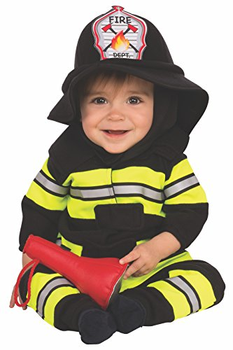 Rubie's Costume Firefighter Baby Party Supplies, Multicolor, Toddler US