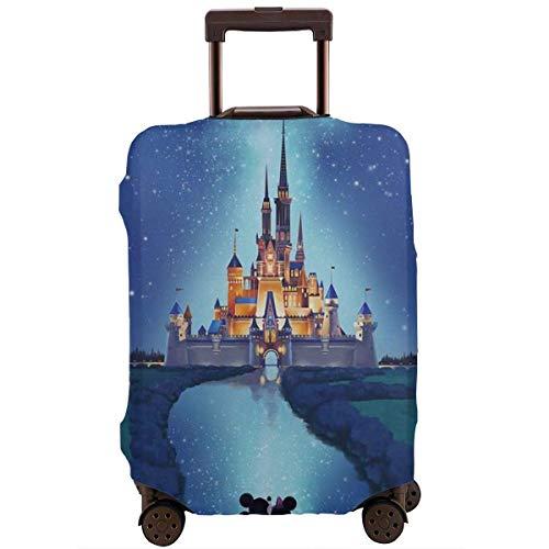 Funda de viaje para equipaje de Minnie y Mickey's Castle Maleta Protector lavable...