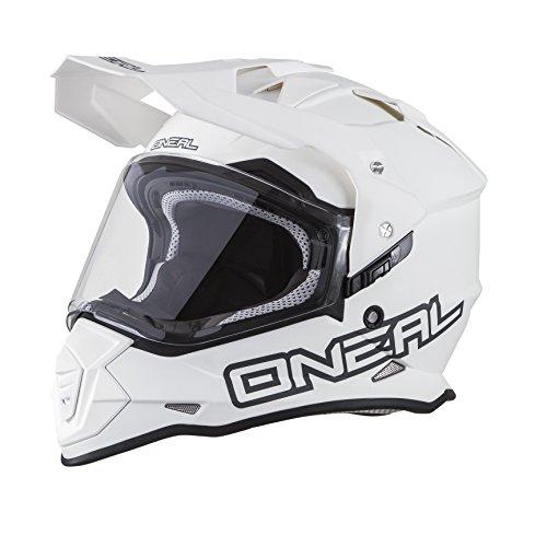 O'Neal 0817-516 unisex-adult full-face style Sierra II Helmet Flat White XXL (63/64cm)