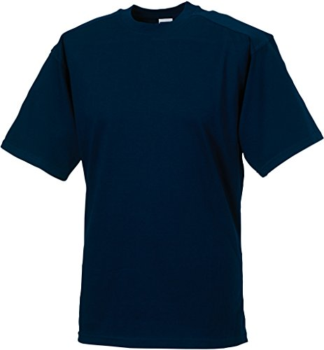 Russell Collection - T-Shirt - - Manches Courtes Homme - Bleu - Blue - French Navy - XS