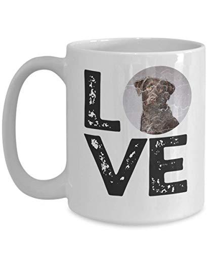 Egoa mok hondenliefhebber liefde chocoladeladenlaboratorium Beste Labrador Chocolade Dierliefhebbers hond pupportee porseleinen mok verjaardag jubileum speciale keramische mok Grappig LAN