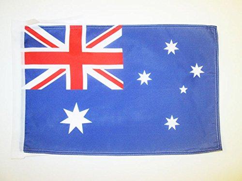 AZ FLAG Flagge AUSTRALIEN 45x30cm mit Kordel - AUSTRALISCHE Fahne 30 x 45 cm - flaggen Top Qualität