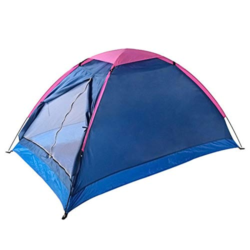 IHCIAIX tent, 1-2 Person Single Layer Summer Camping Tent, Lightweight Waterproof Breathable Tent, for Outdoor Hiking 200x140x100cm,Random Color