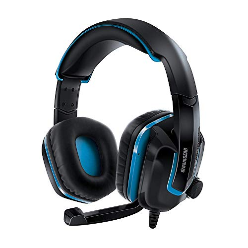 DreamGEAR GRX-440 Wired Headset for Nintendo Switch Lite/Switch/PS4/Xbox One/PC - Black/Blue (DGPS4-6447)
