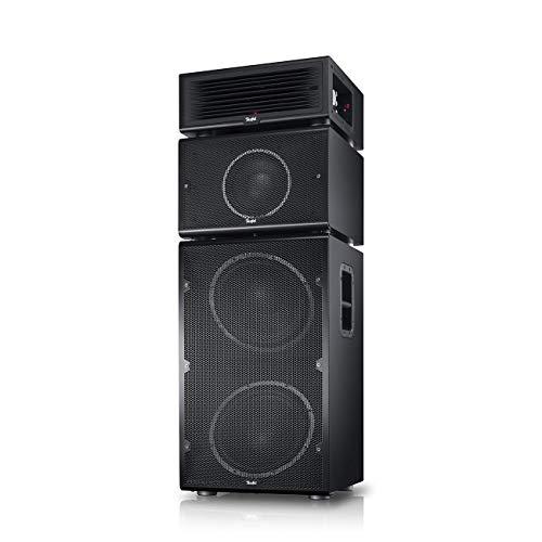Teufel Power HiFi Schwarz Lautsprecher Musik Sound Hochtöner Mitteltöner Bass Speaker High End HiFi Tieftöner Schalldruck Soundanlage