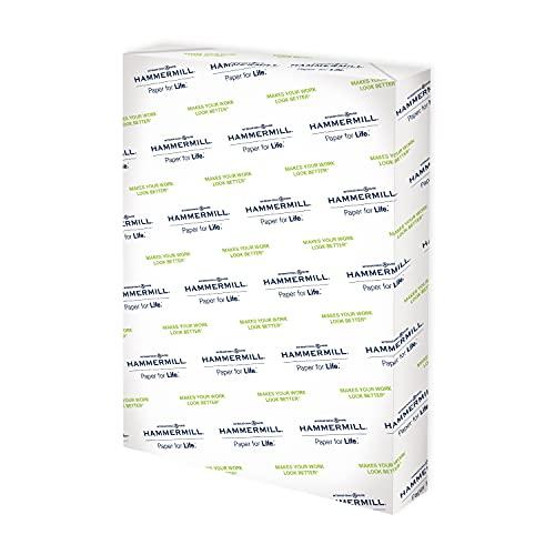 Hammermill Printer Paper, Premium Color 32 lb Copy Paper, 12 x 18 - 1 Ream (500 Sheets) - 100 Bright, Made in the USA, 106127