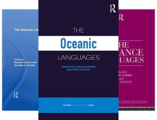 Routledge Language Family (22 Book Series)