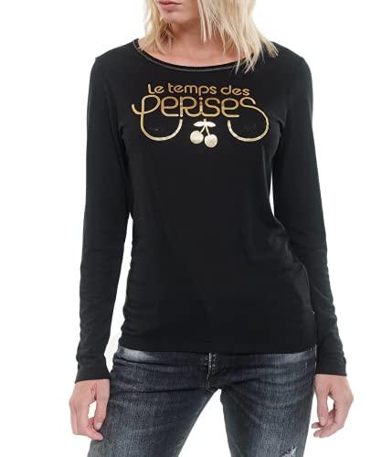 Le Temps des Cerises T-Shirt Basitrame Noir