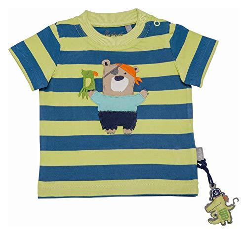 Sigikid Baby-Jungen T-Shirt, Mehrfarbig (Sherbet 385), (Herstellergröße: 80)