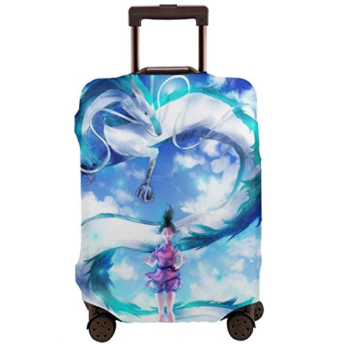 Anime Spirited Away Travel Luggage Cover Suitcase Protector Washable Baggage Luggage Covers TAG-119