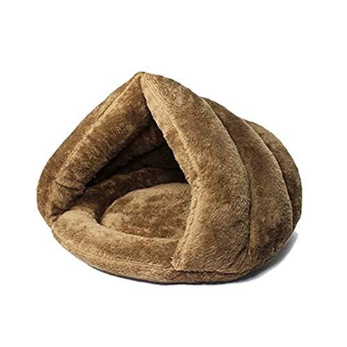 Casa del animal doméstico, gato de casa de apartamentos Mascota arena for gatos suave cama, tiendas de campaña for dormir, sacos de dormir cálido y cómodo del animal doméstico de invierno estera de la