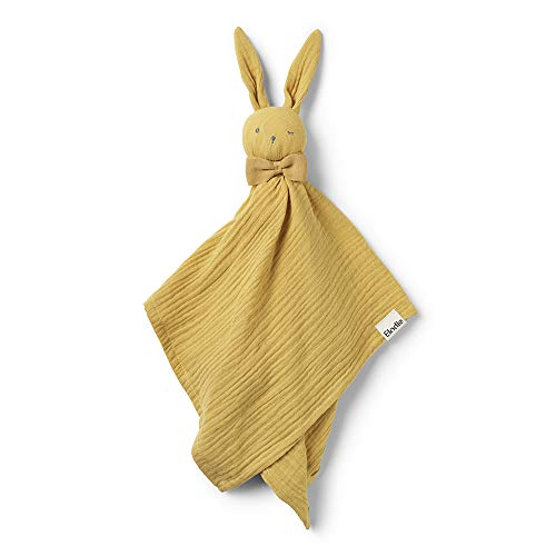 Elodie Details Kuscheltier Hase für Babys Blinkie Schnuffeltuch aus 100% Baumwolle - Goldie, Senffarbe