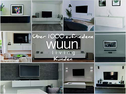 Wohnwand – Low- und Sideboard in weiß Bild 6*