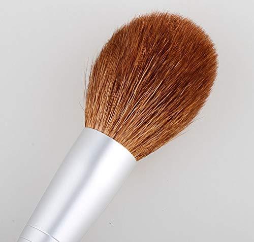 Pinceau de maquillage Tube en aluminium Poignée en bois Pinceau large Poudre Pinceau Pinceau Poudre de Miel Pinceau Multifonction Pinceau Poudre Ronde